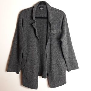 Zara| Thick Knit Open Front Cardigan